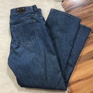 💎 Lee Relaxed Straight Leg Jeans 8 Short